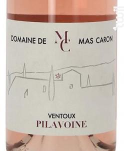 PILAVOINE - Domaine de Mas Caron - 2017 - Rosé