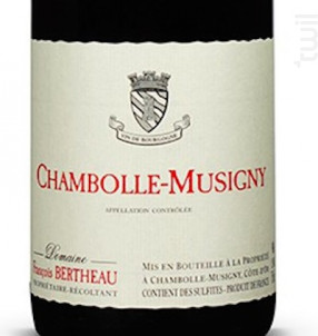 CHAMBOLLE MUSIGNY - BERTHEAU Francois - 2013 - Rouge