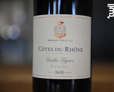 Vieilles Vignes - Maison François-Xavier Nicolas - 2015 - Rouge