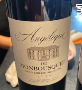 Angélique de Monbousquet - Château Monbousquet - 2014 - Rouge