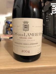 Clos des Lambrays Grand Cru - Domaine des Lambrays - 2015 - Rouge