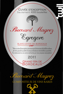 Egrégore - Bernard Magrez - 2014 - Rouge