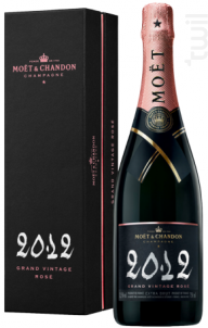 Grand Vintage Rosé - Moët & Chandon - 2012 - Effervescent