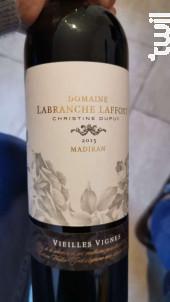 Domaine Labranche Laffont Vieilles Vignes - Domaine Labranche Laffont - 2016 - Rouge