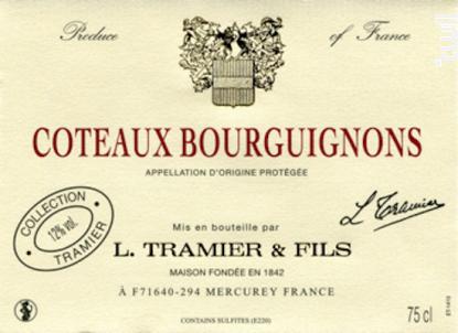 COTEAUX BOURGUIGNONS - Maison L. Tramier et Fils - 2016 - Blanc