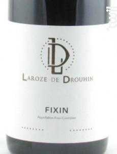 FIXIN - Domaine Drouhin Laroze - 2016 - Rouge