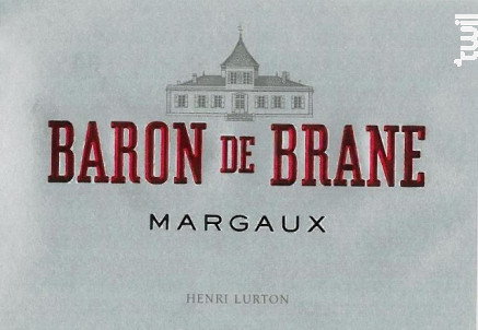 Baron de Brane - Château Brane Cantenac - 2015 - Rouge