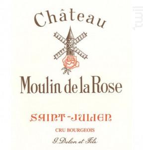 Château Moulin de la Rose - Vignobles Delon- Château Moulin de la Rose - 2017 - Rouge