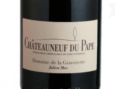 Chateauneuf du Pape - Domaine GRAVEIRETTE - 2015 - Rouge