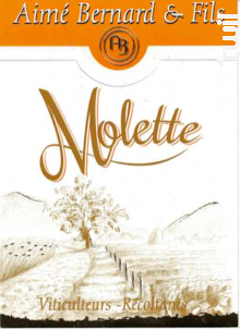 Molette - Aimé Bernard & Fils - 2018 - Blanc