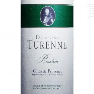 Cuvée Bastien - Domaine Turenne - 2018 - Rouge
