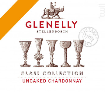 GLASS COLLECTION - UNOAKED CHARDONNAY - GLENELLY - 2019 - Blanc