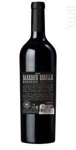 La Barrique Rebelle - Vignobles Coudert - 2019 - Rouge
