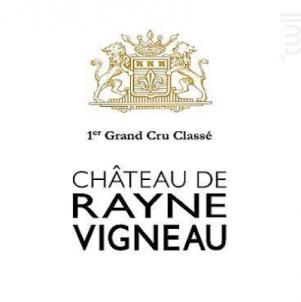Château de Rayne Vigneau - Château de Rayne Vigneau - 2016 - Blanc