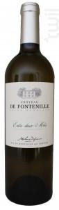 Château de Fontenille - Stéphane Defraine - 2019 - Blanc
