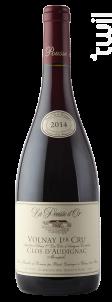 VOLNAY 1er cru Clos d'Audignac - Domaine de la Pousse d'Or - 2014 - Rouge