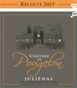 JULIENAS Château de Pougelon - Vins Descombe - 2017 - Rouge