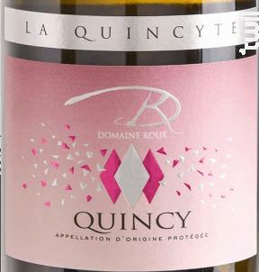 La Quincyte - Domaine Roux - 2018 - Blanc
