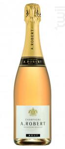 Brut classique Rosé - Champagne A. Robert - Non millésimé - Rosé
