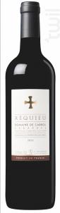 Réquieu - Domaine de cabrol - 2018 - Rouge
