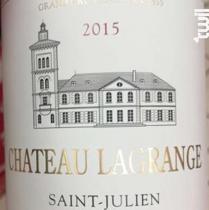 Château Lagrange - Château Lagrange - 2015 - Rouge