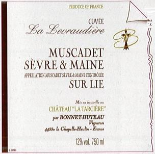 Cuvée La Levraudiere - Domaine Bonnet Huteau - 2016 - Blanc