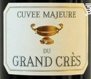 Cuvée Majeure - Domaine du Grand Crès - 2015 - Rouge