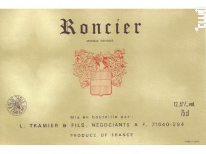 Roncier - Maison L. Tramier et Fils - Non millésimé - Rouge
