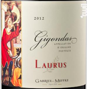 Gigondas - Laurus - Maison Gabriel Meffre - 2013 - Rouge