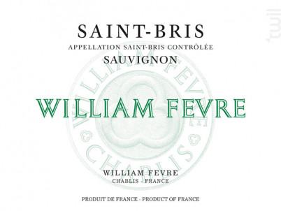 Saint-Bris - Domaine William Fevre - 2017 - Blanc