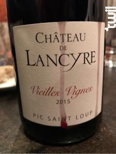Grande Cuvée - CHÂTEAU DE LANCYRE - 2015 - Rouge