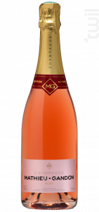 Rosé - Champagne Mathieu-Gandon - Non millésimé - Effervescent