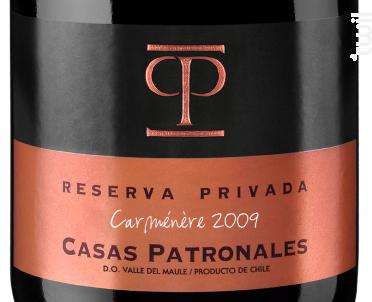 Casas Patronales Reserva Privada - Casas Patronales - 2012 - Rouge
