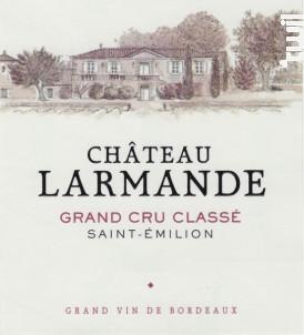 Château Larmande - Château Larmande - 2013 - Rouge