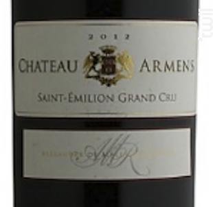 Château Armens - Château Armens - 2012 - Rouge