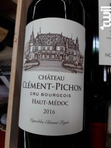 Château Clément-Pichon Cru Bourgeois - Vignobles Clément Fayat - 2016 - Rouge