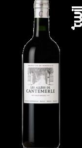 Les Allées de Cantemerle - Château Cantemerle - 2012 - Rouge