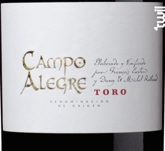 Campo Alegre - François Lurton - Bodega El Albar Lurton - 2014 - Rouge