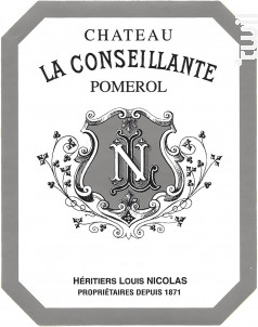 Château La Conseillante - Château La Conseillante - 2015 - Rouge