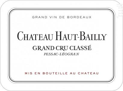 Château Haut-Bailly - Château Haut-Bailly - 2008 - Rouge