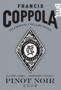 Diamond collection - pinot noir - FRANCIS FORD COPPOLA WINERY - 2015 - Rouge