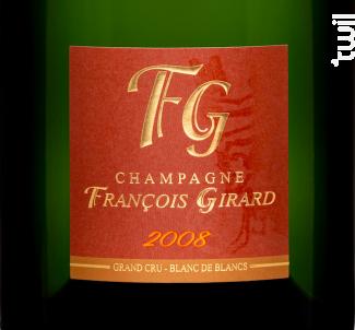 Initiale 2008 Blanc de Blancs Grand Cru - Champagne François Girard - 2008 - Effervescent
