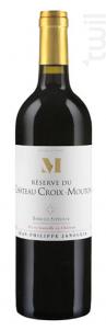 Réserve du Château Croix Mouton - Château Croix-Mouton - 2016 - Rouge