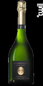 Orpale Grand Cru Blanc de Blancs Milésimé - Champagne de Saint-Gall - 2008 - Effervescent