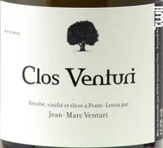 Clos Venturi - Clos Venturi - 2015 - Blanc