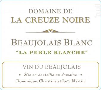 La Perle Blanche - Domaine de la Creuze Noire - 2020 - Blanc