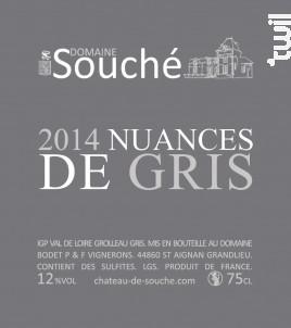 Grolleau Gris - Château de Souché - 2014 - Blanc