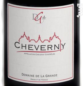 Cheverny - Domaine de La Grange - 2018 - Rouge