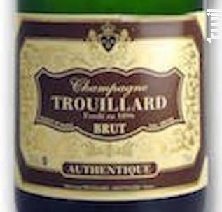 Brut Authentic - Champagne Trouillard - Non millésimé - Effervescent