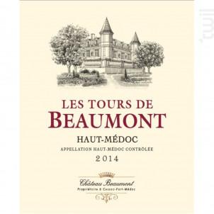 Tours de Beaumont - Château Beaumont - 2016 - Rouge